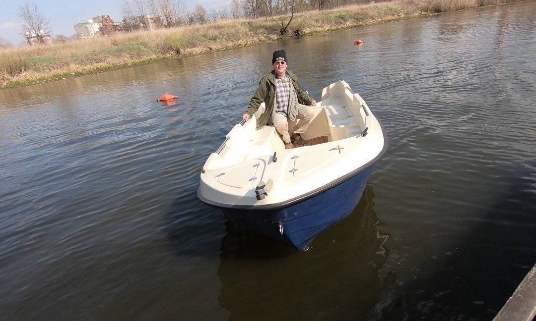 Łódź wędkarska Kraken 380 – pierwsze wrażenia